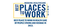 Best Place to Work in Indian Healthcare' award from PeopleStrong and HOSMAC - 2013